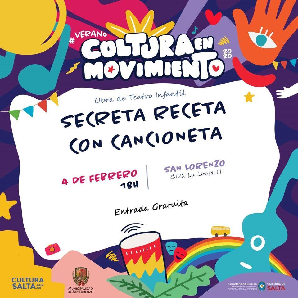Cultura en movimiento llega a San Lorenzo