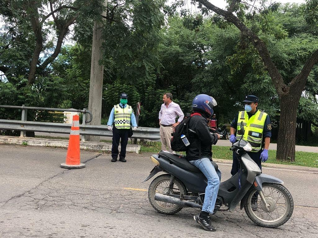 Emergencia Sanitaria: Saravia supervisó los operativos de control