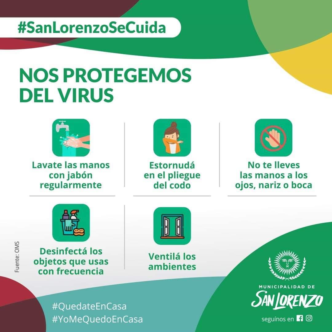 Nos protegemos del virus
