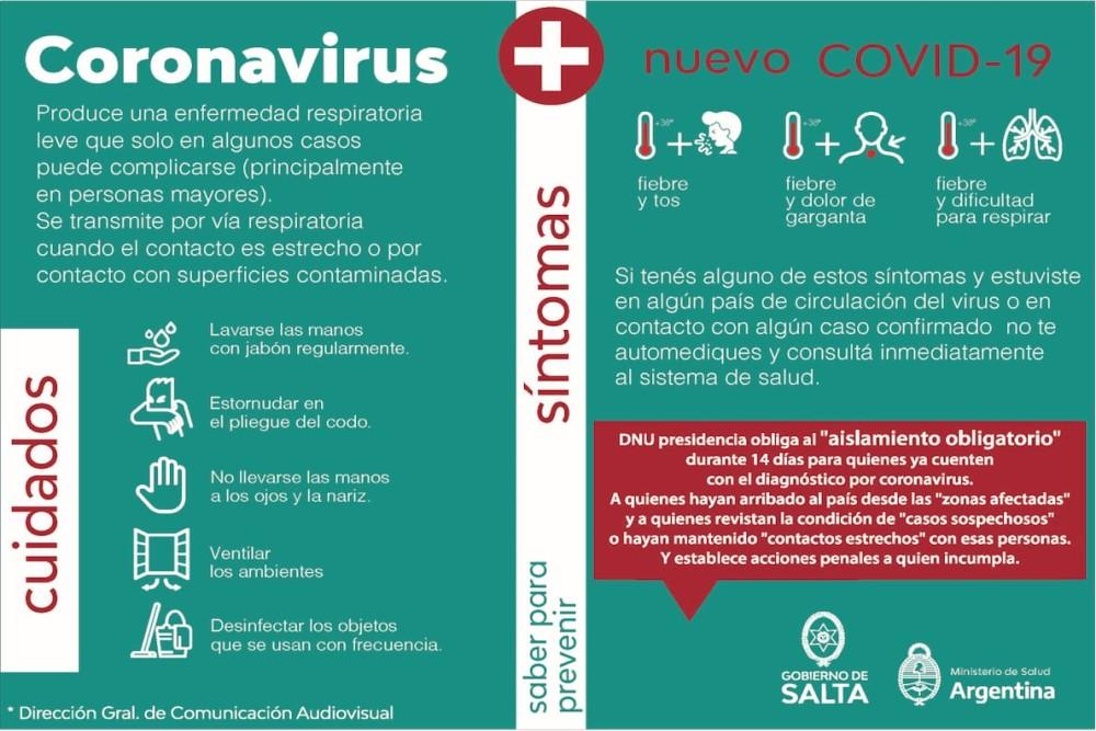 Coronavirus: No subestimar síntomas y consultar al 9-1-1