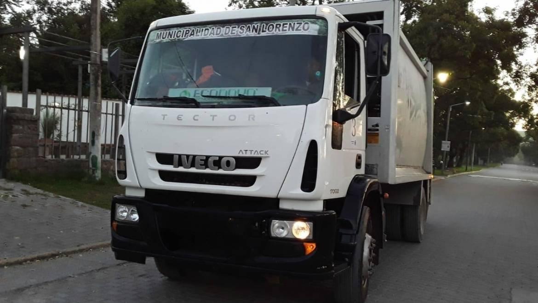 Suspensión momentánea del servicio de recolección de residuos