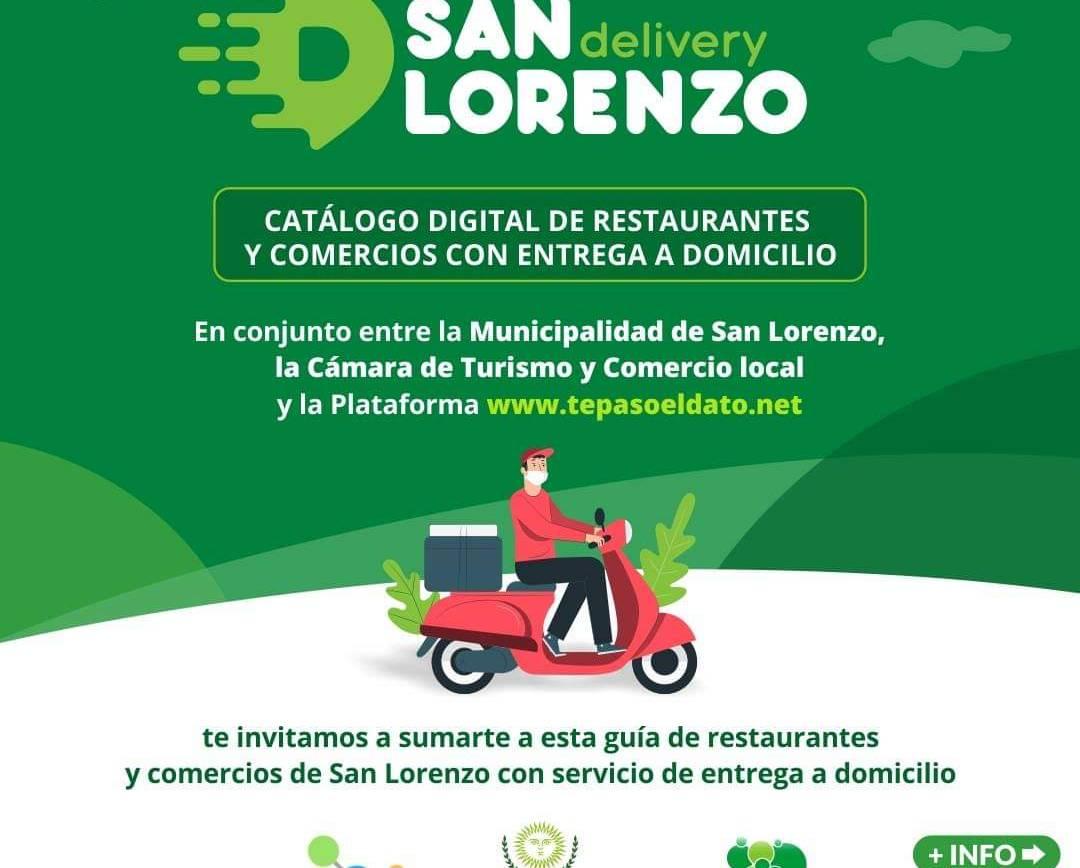 San Lorenzo Delivery: Una alternativa para los comerciantes locales