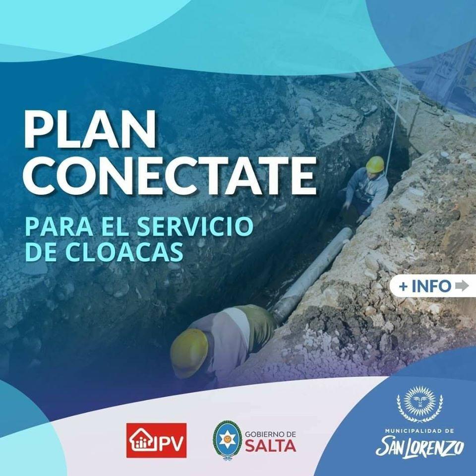 Plan Conectate: Barrios de la zona sur podrán acceder a microcréditos para la conexión del servicio de cloaca