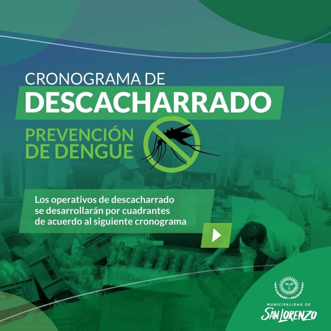 Prevención: Iniciarán las tareas de descacharrado en el municipio