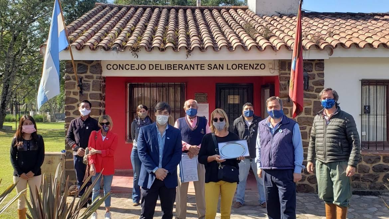 Reconocimiento a Cristina Ellero por su compromiso con el medioambiente