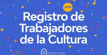 Lanzan el Registro Provincial de Trabajadores de la Cultura