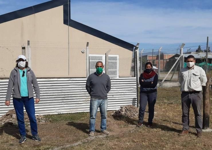 Técnicos del Inta supervisaron el avance del proyecto La Lonja Produce