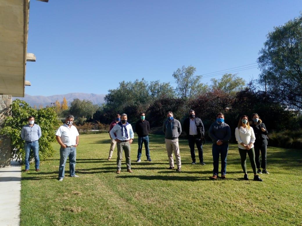La delegación de San Lorenzo Chico suma un equipo de mantenimiento de espacios verdes