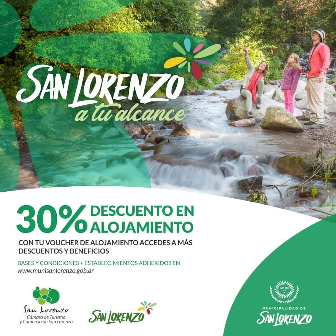 Turismo interno: San Lorenzo a tu Alcance