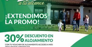 Turismo Interno: Se extiende la promoción San Lorenzo a tu Alcance