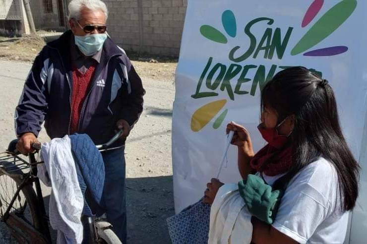 Desarrollo Humano entregó prendas de abrigo en barrios vulnerables