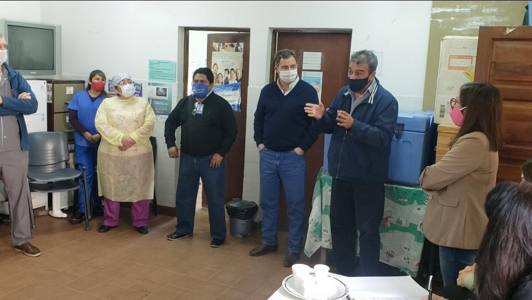 Recorrieron los Centros de Salud de Atocha, San Rafael y La Ciénaga