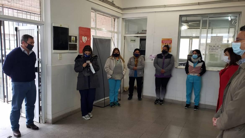 Asumió la nueva jefa del Centro de Salud N° 23 de San Rafael
