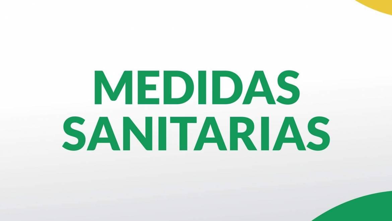 Medidas sanitarias vigentes hasta el 20 de septiembre
