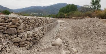 Finalizó la construcción de las defensas en el río San Lorenzo
