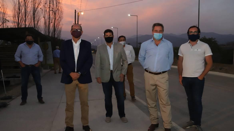 San Lorenzo Chico cuenta con una nueva red de luminarias