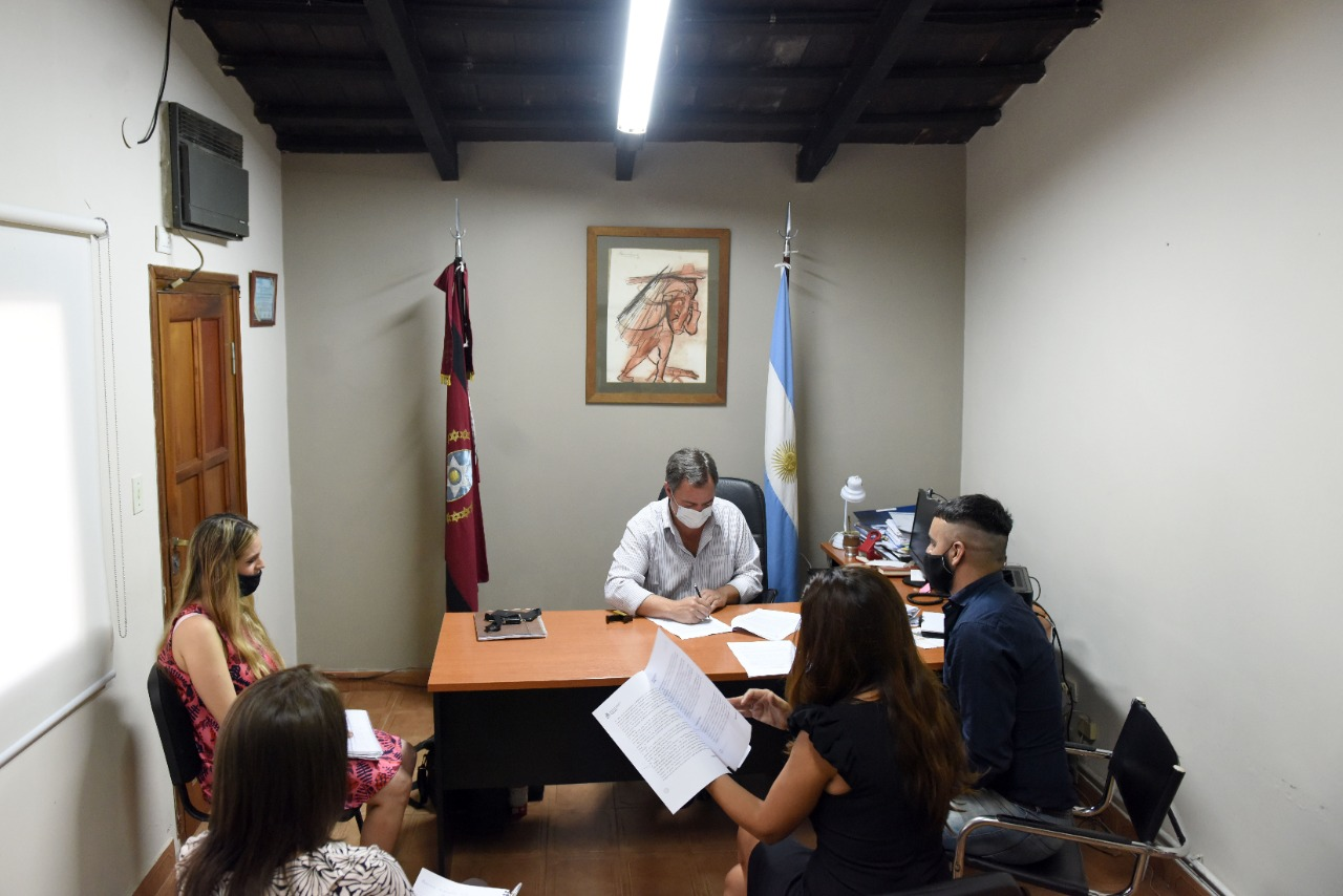 San Lorenzo implementará el programa nacional Acompañar