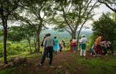 El primer bosque de la poesía salteño se inauguró en San Lorenzo