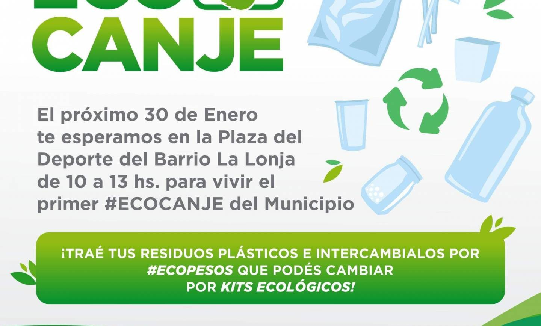 Se realizará el primer #ecocanje municipal