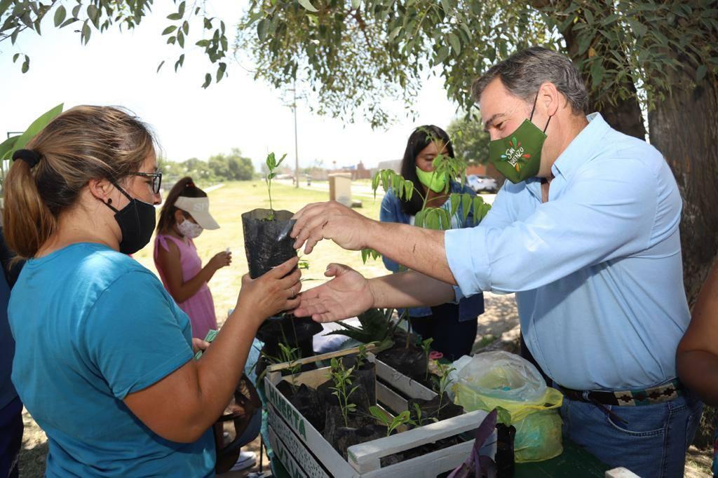 Gran participación ciudadana en el Eco Canje