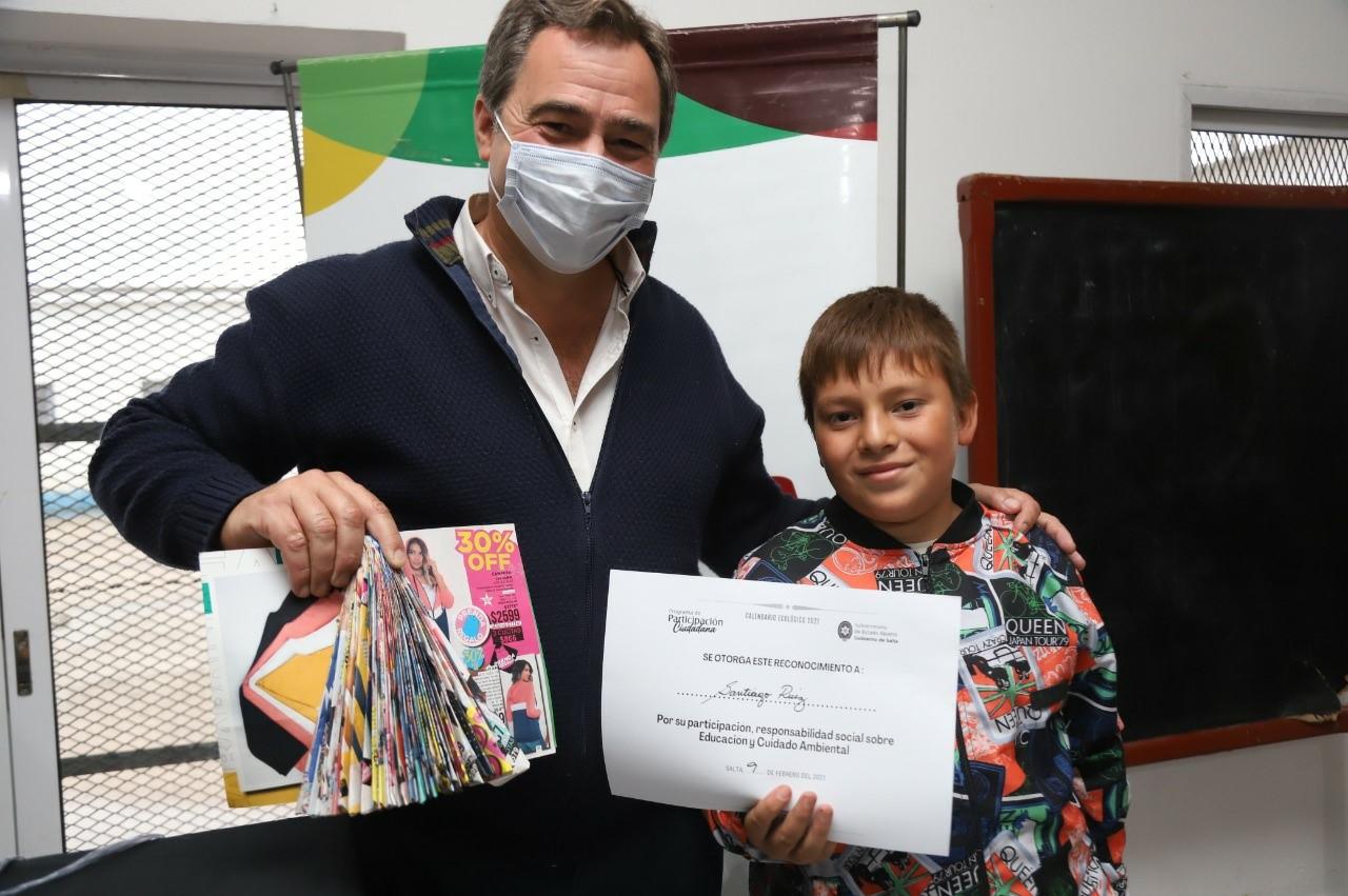 Participantes de los talleres de educación ambiental recibieron sus certificados