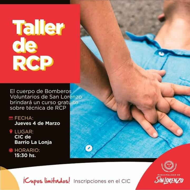 Dictarán un taller sobre RCP en barrio La Lonja