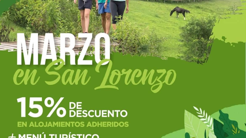 """Turismo: Lanzan la promoción """"Marzo en San Lorenzo"""""""
