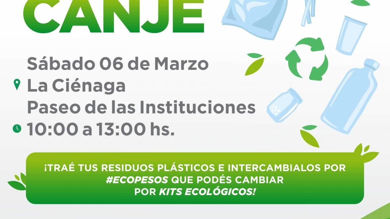 Este sábado habrá #EcoCanje en La Ciénaga