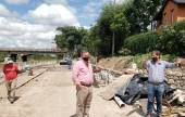 Comenzó la construcción del parque lineal en la costanera del río San Lorenzo