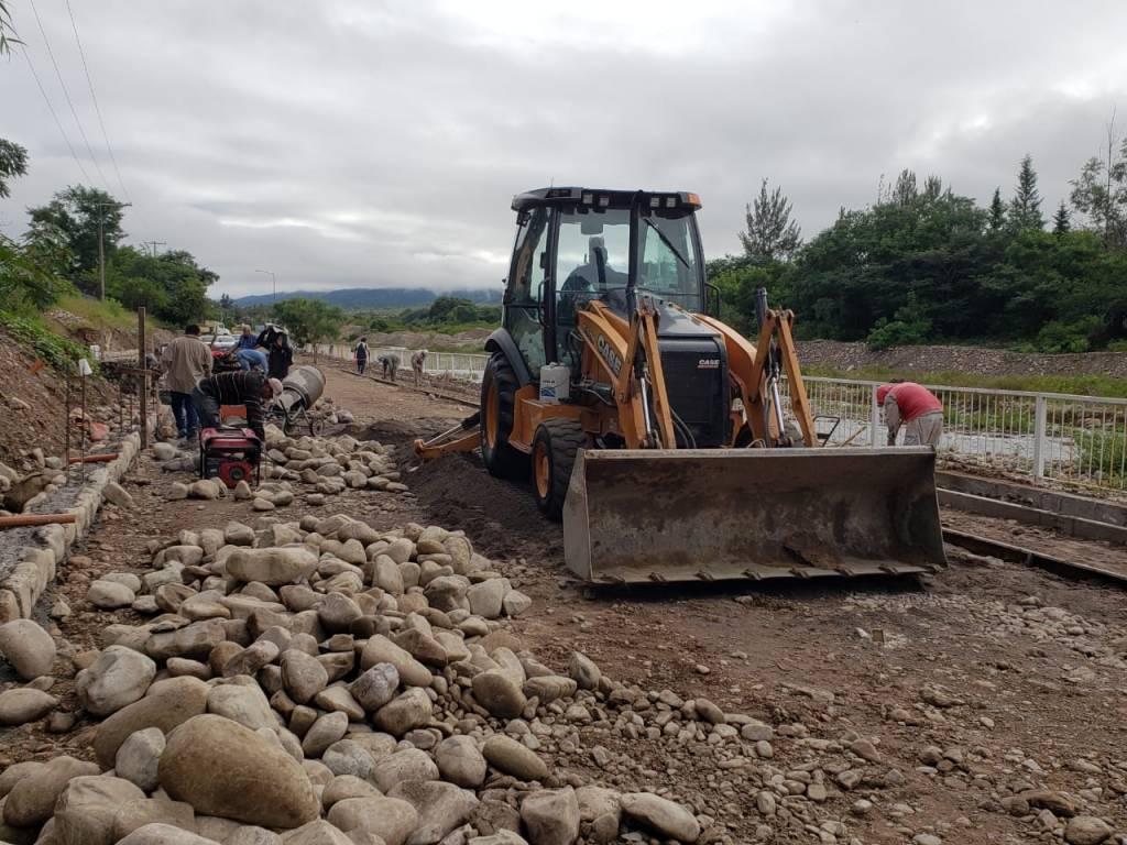 Construcción del Parque Lineal en la costanera del río San Lorenzo
