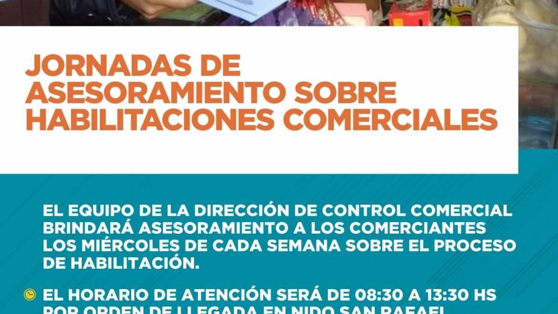 Jornadas de asesoramiento sobre habilitaciones comerciales en san rafael