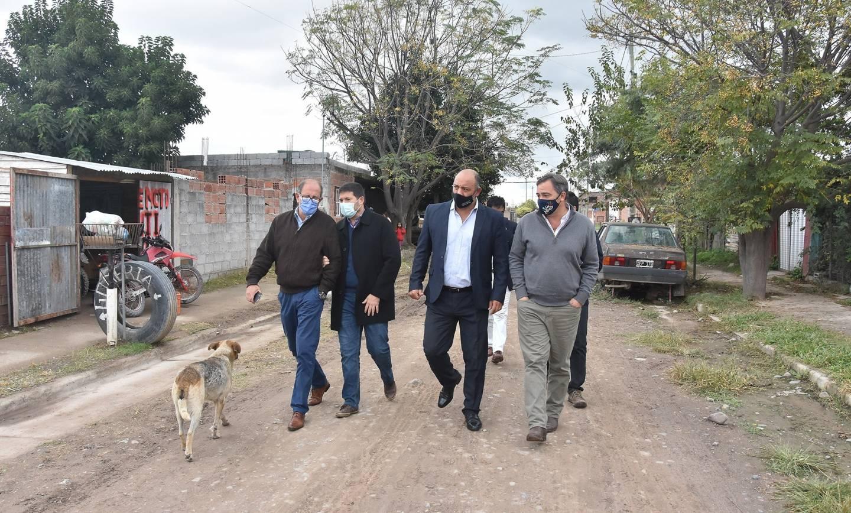 Ejecutarán obras en La Lonja, Nueva Esperanza y Barrio Policial