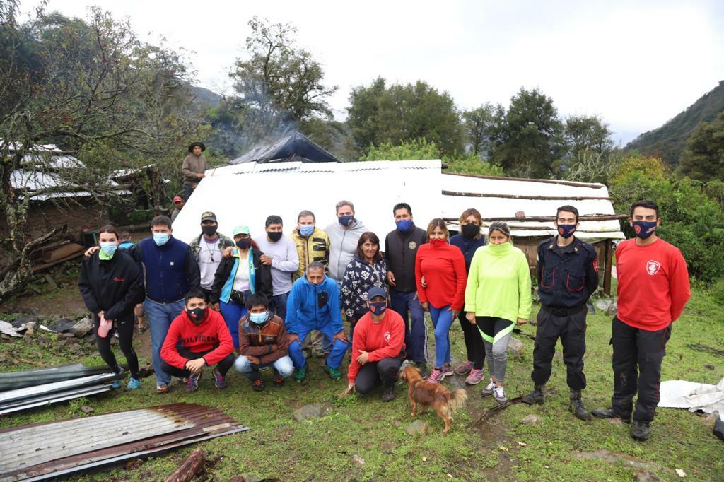 Concluyó el operativo de asistencia a Florentina Sarapura