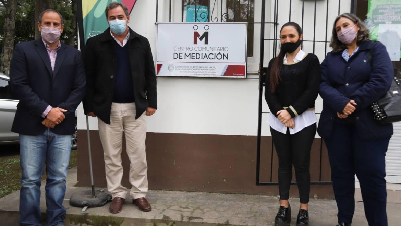 El centro comunitario de mediación brinda asesoramiento a vecinos del municipio