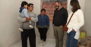 Se construyen mejoras habitacionales en Nueva Esperanza, San Rafael y La Lonja