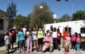 El cuerpo Infantil de Policías de Atocha Pueblo recibió elementos deportivos