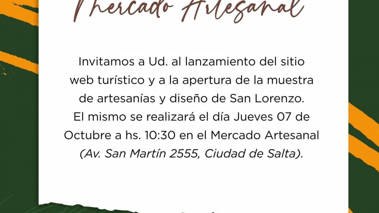 """El jueves presentarán la muestra """"San Lorenzo llega al Mercado Artesanal"""""""