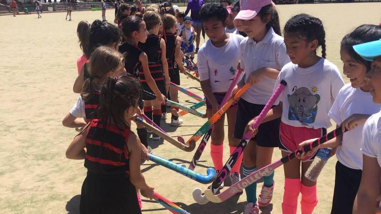 La escuela municipal de hockey participó de un encuentro en Tigres
