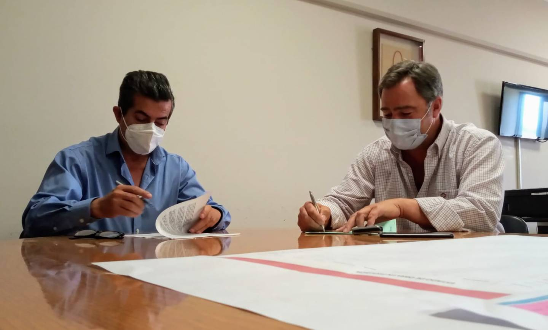 Iniciará el adoquinado de la calle Joaquín V. González